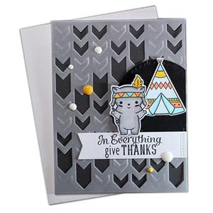Sinais de trânsito Seta Placa tampa de metal Morre de corte para DIY Scrapbooking Álbum de gravação Cartão de Artefatos Decorativos