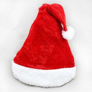 chirstmas şapka Bezi yılbaşı Santa şapkalar Santa Claus şapka yılbaşı şapka yetişkin led santa clause şapkalar