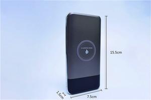 10000mAh Yeni Güneş enerjisi mobil güç Kablosuz güç bankası dijital ekran taşınabilir Cep Telefonu Güç Bankalar Cep Telefonu Aksesuarları KM011