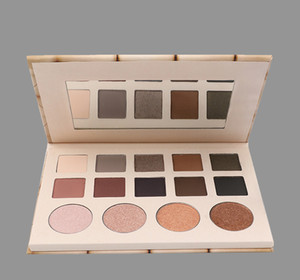 private label OEM 14 color eye shadow palette 130g 14.6cm*10cm*1.1cm nice paper package with outside cover no logo
