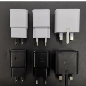 QC 3.0 Fast Charger US EU UK 5V 2A Quick Charge Travel Adapter EP-TA200 For Samsung Galaxy S10 charger S8 S9 Plus S6 7 Edge A3 A5 A7 Note 8