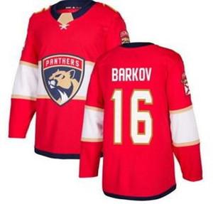Camisas Florida Panthers Red Home 16 BARKOV camisas Hockey Jerseys TOPS, personalidade 1 luongo 5 EKBLAD 16 BARKOV loja de treinamento online para venda