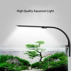 النباتات LED حوض السمك إضاءة ضوء النمو ضوء 5W / 10W المائية الإضاءة مصنع للماء كليب على مصباح للدبابات السمك
