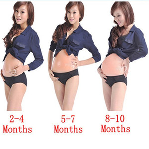 Fake Pregnancy Adult Belly Stuffer False Belly Baby Bump Silicona para disfraces Cosplay