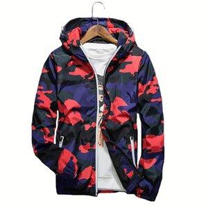 Camouflage Hiking Jacket Cappotto casual con cappuccio da uomo Giacca di grandi dimensioni Abbigliamento Uomo Autunno Inverno Cappotto sportivo all'aperto con cappuccio caldo
