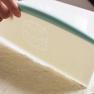 Vendita calda crema liscia torta Spatola cottura della pasticceria Strumenti pasta coltello extra grande banco raschietto Pastry Tools