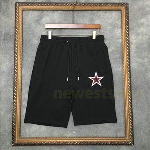 2020 nueva de lujo de verano caliente pantalones cortos para hombre de la estrella del bordado de impresión Pantalones cortos de moda de playa pantalones nuevos hombres de diseño para mujer Loose Pant