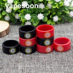 VapeSoon Newest E Cigarette Vape Band Ring 22 * 10 Per 22mm E Cig Mod o Atomizzatore come MELO 3 MINI Atomizzatore