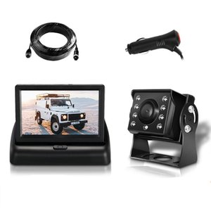 Universal Rotation Automatic Illumination 6 Layer Lens Vehicle Waterproof 8 LED Backup Camera Alloy 15M Cable Stable car