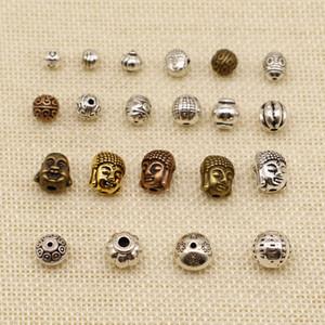 60 Pieces Hand Made Jewelry Accessories Parts Buddha Head Ball Beads Pumpkin Beads HJ238