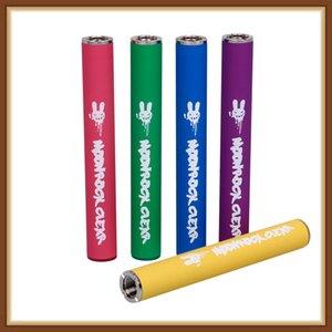 Moonrock Effacer batterie 350mAh 10.5mm 510 Bud tactile LED batterie Vape Pen pour Bobby Bleu Razzle Dazzle 510 Chariots cartouche