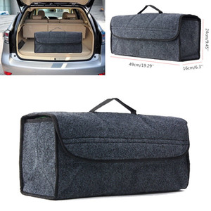 Grey Auto Car Seat Back Multi-functional Storage Bags Organizer Holder Accessory Case Container Organizer Pouch Bags