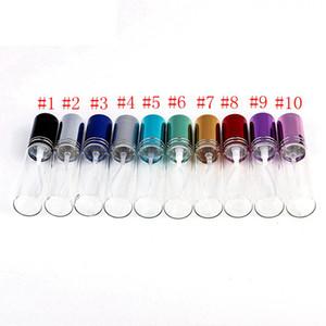 10m Mini Metal Spray Perfume Bottle Travel Refillable Empty Glass Essential Oil Bottle Atomizer Aluminum Refillable Bottles RRA2469