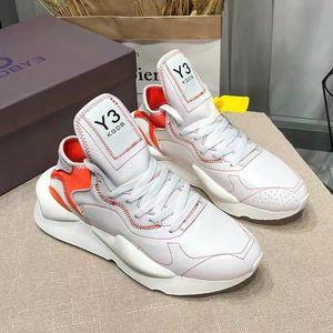 Lüks Y3 Ayakkabı Tasarımcısı Y3 Ayakkabı moda Sneakers Sports kadınlara erkeklerle hakiki deri koşucular geliş eğitmenler için erkek ayakkabısını makosenler