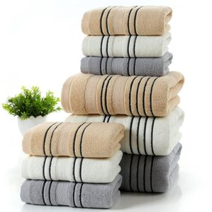 TECHOME 100% Cotton Thicken Soft Face Towel Men and Women Home Bathroom Restroom Soft Bath Shower Towel Beach