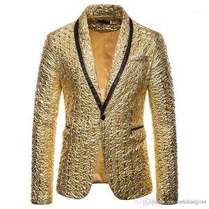 Designer Mens Normal Kleidung Mode Mens Outer mit Einreihern Herbst Hot Stamping Mens Blazer beiläufigen