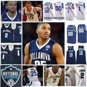 Personalizada NCAA Villanova Wildcats College Basketball Jerseys Mikal Bridges Donte DiVincenzo Jalen Brunson Eric Paschall Villanova Wildcats Jers