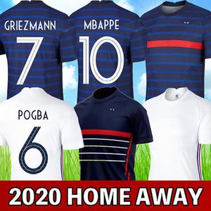 france 2020 soccer jersey euro cup 2020 france football shirt MBAPPE GRIEZMANN POGBA HERNANDEZ PAVARD VARANE GIROUD KANTE