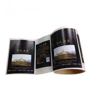 Cheap Custom impresso Food Packaging Etiqueta, Food etiqueta adesiva com melhor preço de fábrica