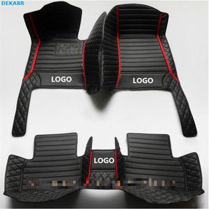 Coches Floor Mats Automóvil almohadillas de las patas para BMW X1 X2 X3 X4 X5 X6 X7 1 2 3 4 5 6 7 8 M Series GT E30 E34 E36 E39 E46 E60 E90 F10 F30