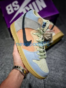New SB Dunk High Spectrum Mens Running Shoes Mandarin Duck Women Designer Sports Sneakers Macaron Casual Shoes Trainers des Chaussures
