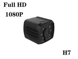 H7 واي فاي عن بعد مصغرة كاميرا IP كامل HD 1080P الأشعة تحت الحمراء للرؤية الليلية مايكرو كاميرا الفيديو الرقمية صوت فيديو سجل الرئيسية الأمن DVR