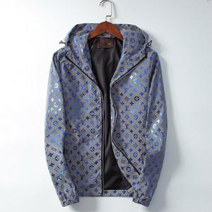 Louis Vuitton top sweater coat diseño de moda de los hombres de la impresión de los deportes ocasionales encapuchadas de los hombres de lujo al aire libre fre hococal