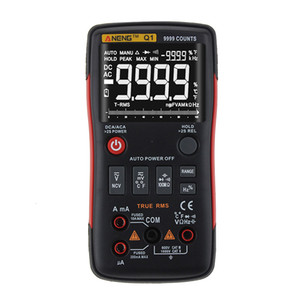 Multímetro digital True RMS Auto Gama Profissional LCD automática inteligente Multímetros tensão amperímetro Tester quente 20