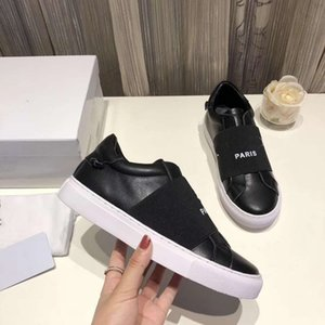 Classics man Women luxury Sneaker Fashion Smart Platform Trainers Luminous Fluorescent Shoe Snake Back Leather shoes slipper shoes011 GV02