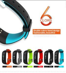 P1 Smartband Tensiomètre Wristband Podomètre Fitness Tracker Moniteur de fréquence cardiaque Wristband Bracelet Fitbit Pour Andiod IOS avec la boîte