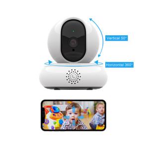 WiFi مراقبة الفيديو 200W DPI HD الإنترنت الحركة مفتاح واحد استدعاء 360 درجة panoramzcview 3d كاميرا الفيديو