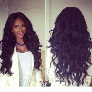 100% Lace Front Human Hair Wigs Wavy curly 300% Density In Stock Cheap Lace front Wig With Baby Hair For Women