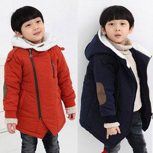 Kinder Jacken Jungen warme Winterjacke mit Kapuze mit Fell Oberbekleidung doudoune fille winterjas meisjes