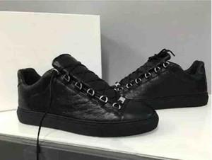 Top Arenas Marca Causal Sapatos Arena Sneakers Sapatos Flats Moda Couro Genuíno Sapatos de Caminhada, Ao Ar Livre Formadores Vestido de Festa Sapatos 38-46
