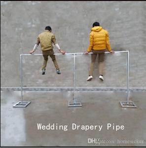Soporte 3M 6M * boda cortinas Tubería / Marco de la decoración de la boda de tuberías para la cortina / Stainess de acero de la boda del soporte Telón de fondo