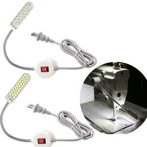 홈 재봉틀 데스크 산업용 조명에 대한 자기 장착 자료와 LED 재봉틀 빛 작업 구즈넥 램프 조정 튜브