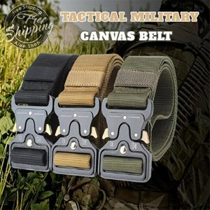 Fashion Belt Outdoor Tactical Belt Men&Women High Quality Canvas Belts for Jeans Male Luxury Casual Straps Ceintures
