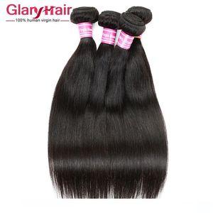 Wholesale Remy Human Hair Weave uk 8a Brazilian Peruvian Malaysian Indian Mongolian Cambodian Raw Virgin Hair Straight Braiding Hair Bunldes