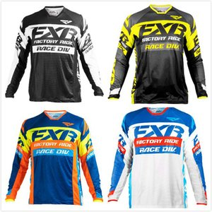 2020 Motocross 2020 Downhill Jersey Mountain Bike Motorcycle Cycling MX Off Road Bicycle MTB T-Shirt Long Sleeve moto FXR