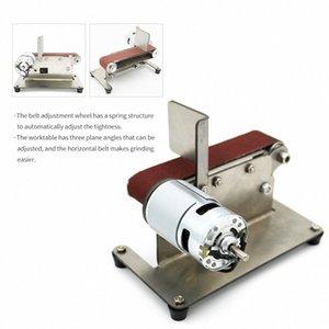 40 ~ 90W Horizontal Mini Electric Bandschleifmaschine Sander Multifunktionsbandschleifmaschine DIY Polierschleifmaschine EUplug 1hVC #