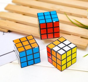 Brinquedo educativo Cube Magic Jogo Rubik Cube Aprendizagem Educacional Jogo de Rubik bom presente Toy Mini de Rubik