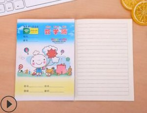 mix 8kinds Primary school kindergarten homework notepads books with cartoon print