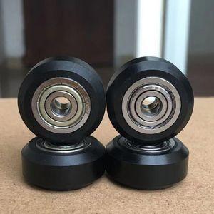 Stampante 3D a basso costo di ricambio Accessori 20Pcs / Slot POM della rotella di plastica pulegge cuscinetti a sfera 625ZZ stampante 3D pezzi rotondi Perlin Parte ingranaggio folle