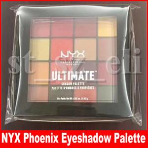 NYX Maquillaje de ojos Ultimate 16 colores Phoenix Paleta de sombras de ojos Brillo Mate Sombra de ojos Cosmética paleta