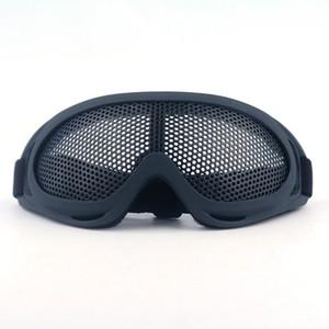 Live-action attrezzature CS a zero occhiali anti-effetto occhiali di protezione maglia di acciaio ferro tattico maglia occhiali anti-paintball occhiali K250G