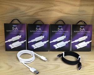 5A SuperCharge Chargeur Rapide Type C Câble USB Chargeur Super Rapide pour Samsung S10 + S9 S8 HTC LG Xiaomi Oppo Vivo Huawei Mate 20, P30 Pro, Nova 5