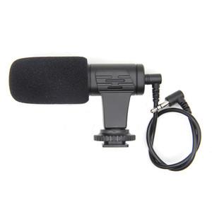 Muff iPhone Samsung akıllı telefon Micrephone ile Video Kamera Söyleşi dijital kamera arayüzü Mikrofon Mini Taşınabilir 3.5mm