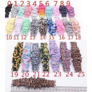 Scrunchie Elma İzle Gruplar 38mm 42mm Watchband Scrunchies Değiştirilebilir Çiçek Ayçiçeği Çizgili Ekose Bel İzle sapanlar 25 renk