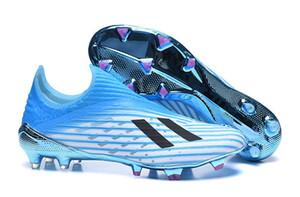 ربط الحذاء حتى المفترس adidas X19.3 FG19 + FG الأطفال شباب جديد بيج بويز أطفال أحذية الرجال لكرة القدم الداخلية لعبة X-Layskin Speedframe أعلى منخفض كرة القدم المرابط أحذية