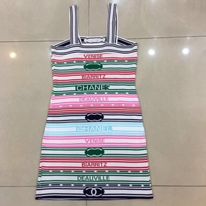 Женские летние платья, сексуальные стропы, полосатые швы, подбор цветов, облегающий вид, предметы первой необходимости